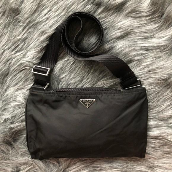 5a36df3c21a5 Prada Bags   Authentic Black Cross Body Bag   Poshmark